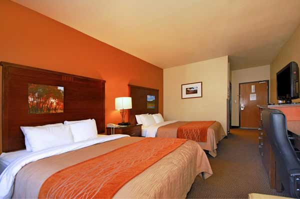 Comfort Inn Hotel Ruidoso New Mexico Queen Rooms
